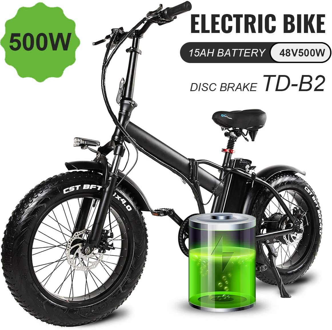 electric bike with fat tyres